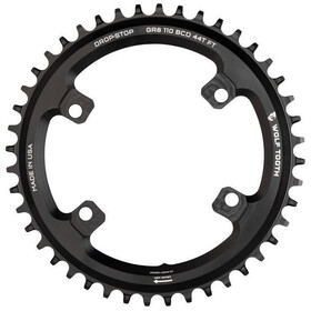 Wolf Tooth Plateau Ø110mm BCD 4 Boulons Shimano GRX, black